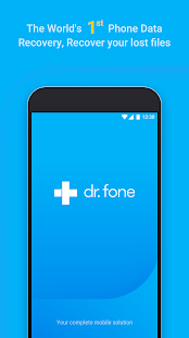 dr.fone - Recovery & Transfer & Backup Screenshot