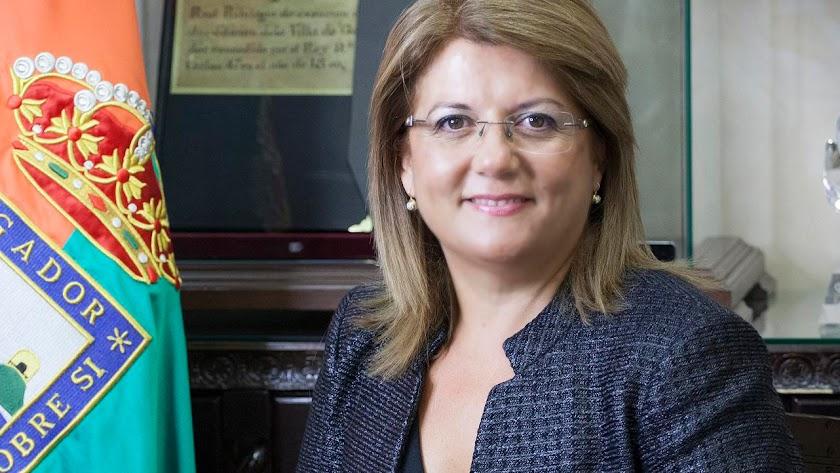 Lourdes Ramos, alcaldesa de la Villa de Gádor.