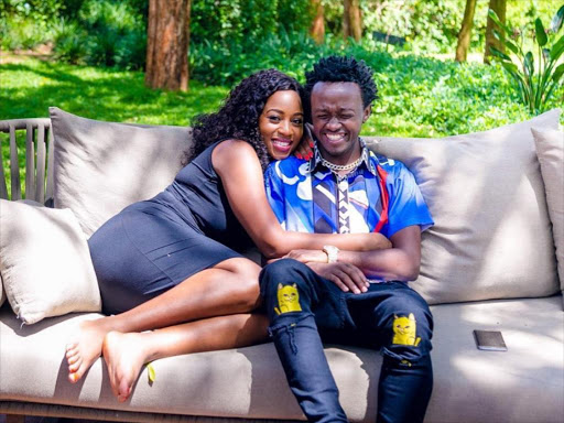 Diana Marua and husband Bahati
