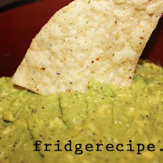 Five Ingredient Guacamole Recipe