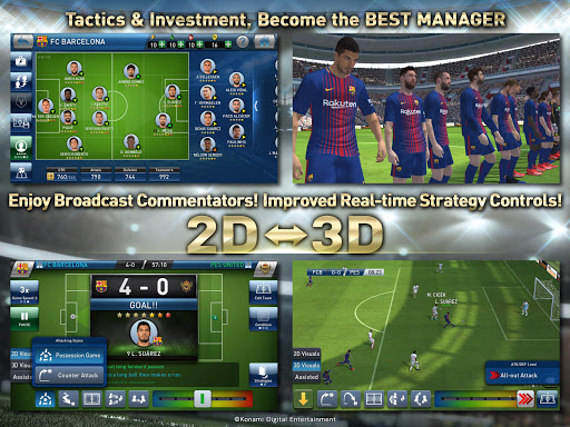 PES CLUB MANAGER  gameplay | by HackJr.Pw 10