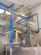 Photo: Gas Vapor S.L. - www.gv.iei.es Instalación de Desengrase de Aguas de Arrastre de Huesos en Circuito Cerrado de Líneas de Deshuesado y/o Rodajado