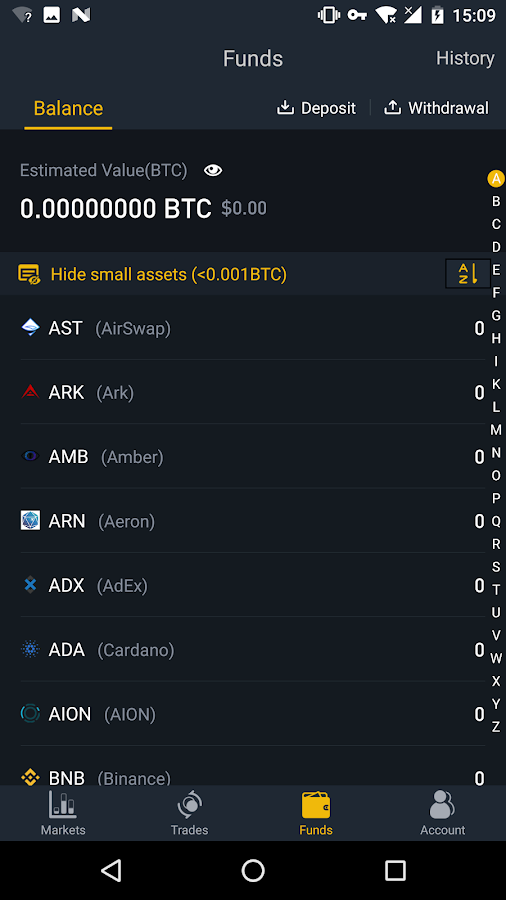 Binance - Cryptocurrency Exchange - Android Apps on Google ...