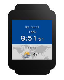 Weather & Clock Widget for Android Ad Free- screenshot thumbnail