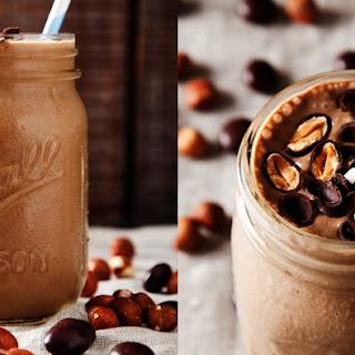 Hazelnut Cacao Banana Smoothie.