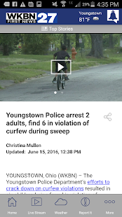 WKBN 27 First News- screenshot thumbnail