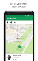 screenshot of Google Find My Device