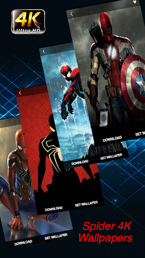 Spider Wallpapers 4K Superheroes for PC