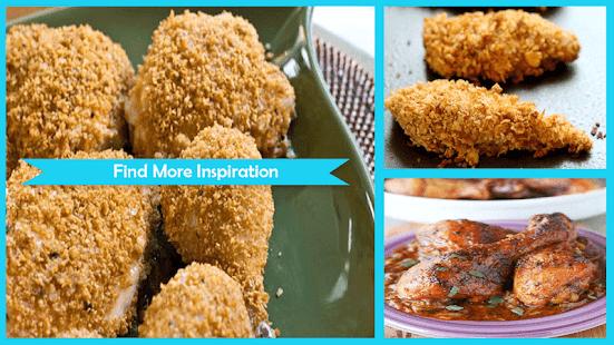 Chruncy Baked Chicken Recipe - náhled