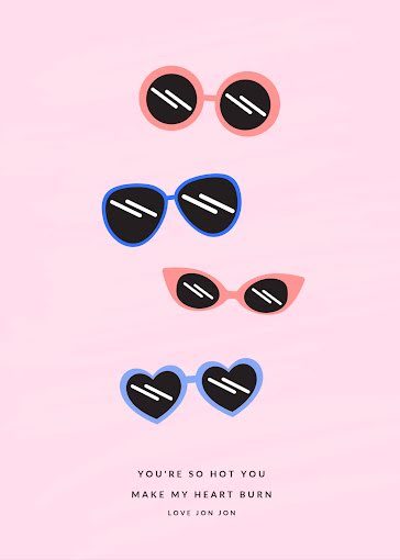You're So Hot - Valentine's Day Card Template