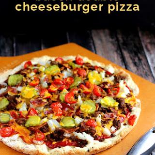 Bacon Double Cheeseburger Pizza