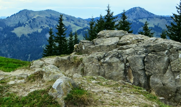 Am Gipfel Rangiswangerhorn Grüntenblick Illertal Allgäu