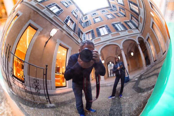 HomeMade FishEye lens  di davide fantasia