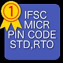IFSC,PIN,STD, RTO - Indiacodes