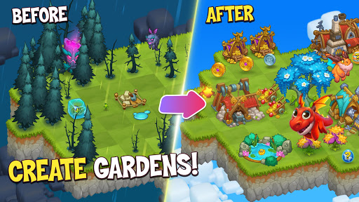 Merge World Above: Merge games Puzzle Dragon 4.0.5615 screenshots 1