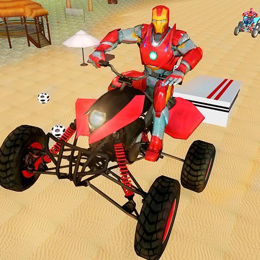Superhero Atv Stunt Racing Pro