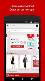 Macy's- screenshot thumbnail