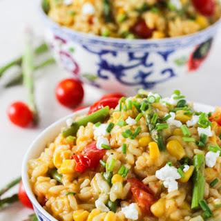 Farmers' Market Summer Vegetable Gluten-Free Risotto Recipe