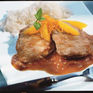Ingwer-Orangen-Schnitzel
