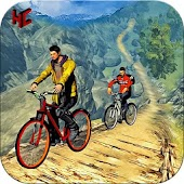 Bmx offroad Bicycle Rider Game: cycling game