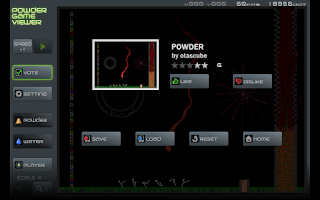Screenshot of Powder Game Viewer