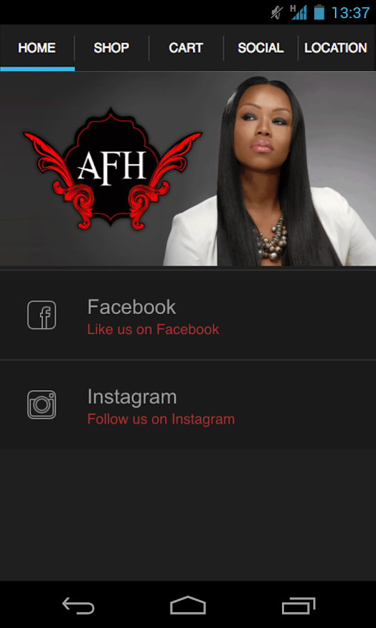 Absolutely fabulous hair salon android apps on google play for Absolutely fabulous salon