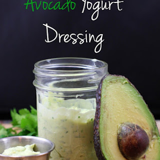 Avocado Yogurt Dressing.