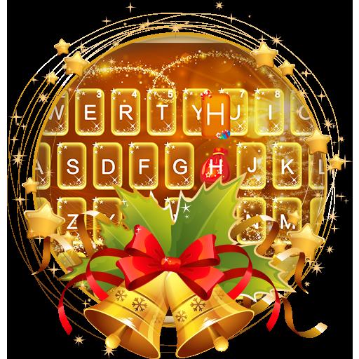 Aureate Christmas Keyboard Theme Icon