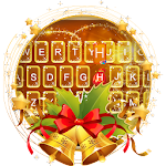 Aureate Christmas Keyboard Theme Icon
