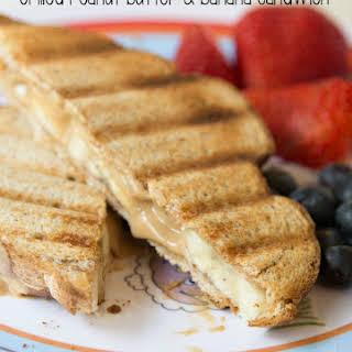 Grilled Peanut Butter & Banana Sandwich.