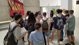 Alumnos en la Feria de Empleabilidad.