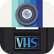 VHS Camcorder Camera - 90s Retro Camera Effects