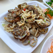 E25. Stir Fried Clams with Garlic and Chili 避風塘炒蜆