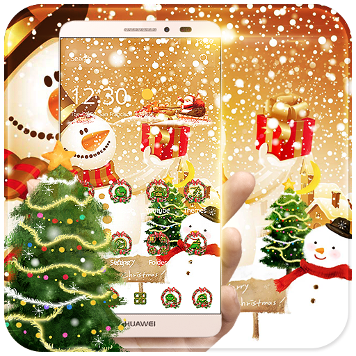 Christmas Snowman Theme file APK for Gaming PC/PS3/PS4 Smart TV