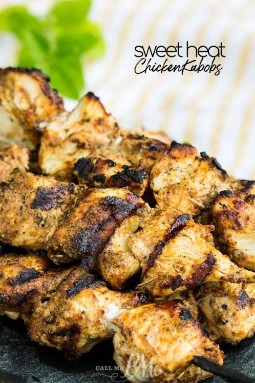 Sweet Heat Chicken Kabobs