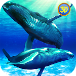 Whale Family Simulator Icon