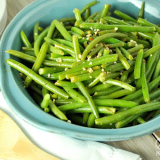 Lemon Pepper Green Beans - Low Carb, Paleo