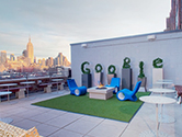 Google's North America Office in New York, United States.