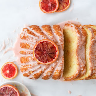 Blood Orange Yogurt Loaf.