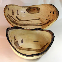 "Photo: Matt Radke 6"" x 15"", 5"" x 12"" bowls [red maple]"