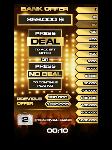 Deal To Be A Millionaire apkpoly screenshots 10