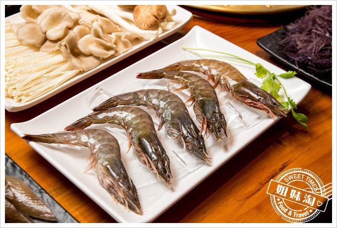 巴蜀大將四川老火鍋鮮甜白蝦