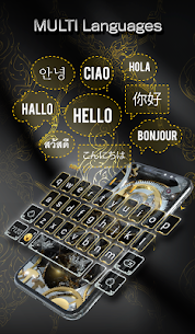 Silver Luxury Watch Wallpaper and Keyboard 4