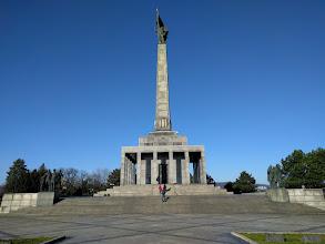 Photo: The Slavín Monument.