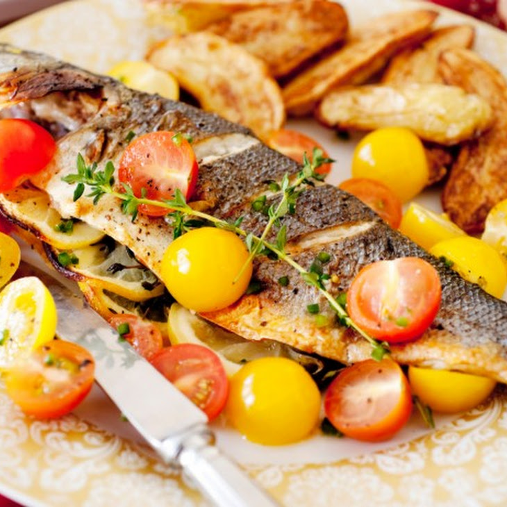 Stuffed Whole Fish-Greek Style