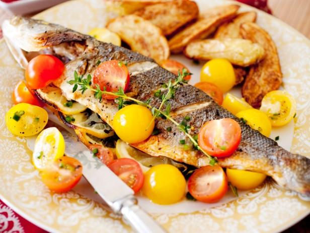 Stuffed Whole Fish-Greek Style Recipe