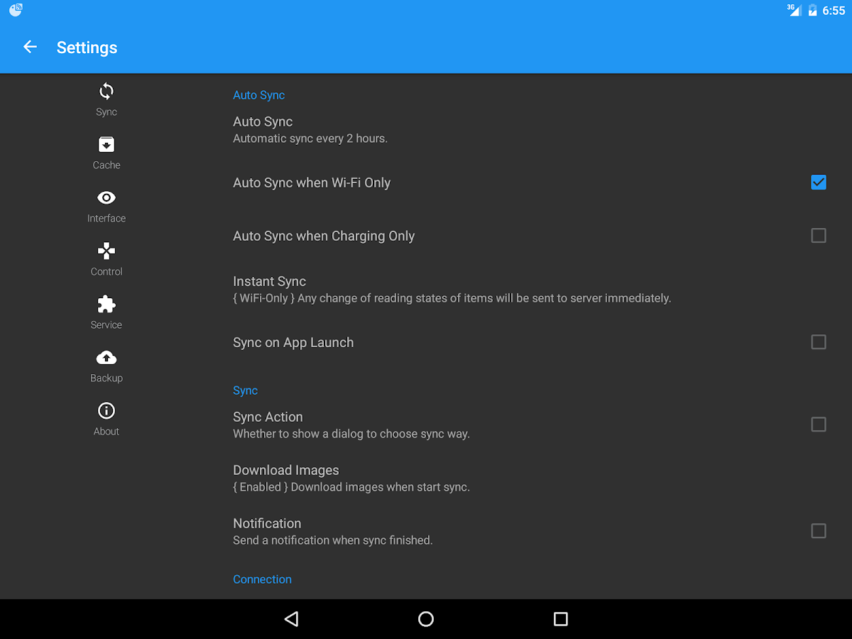 FeedMe (RSS Reader | Podcast) – Screenshot