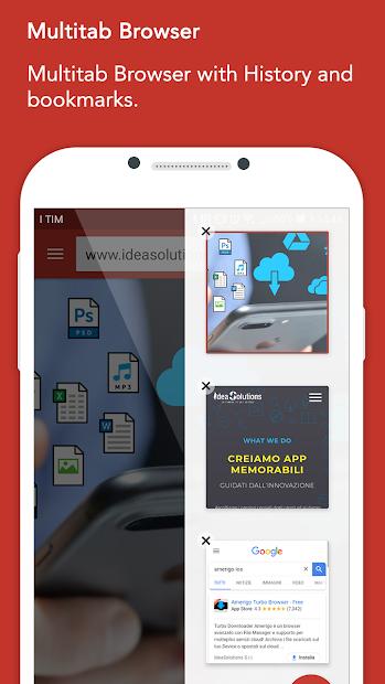 Amerigo Android App Screenshot
