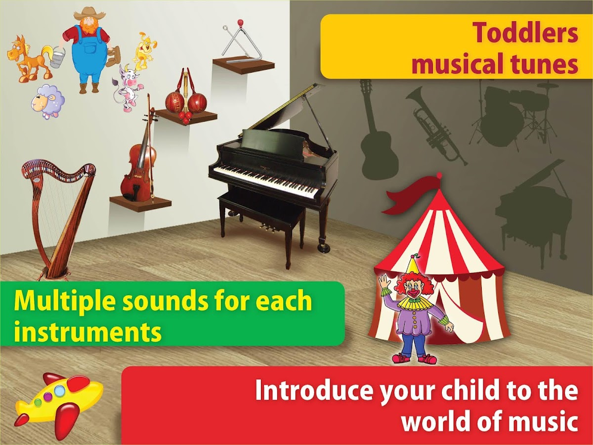 Kids music toy tunes♥rhymes♥- screenshot