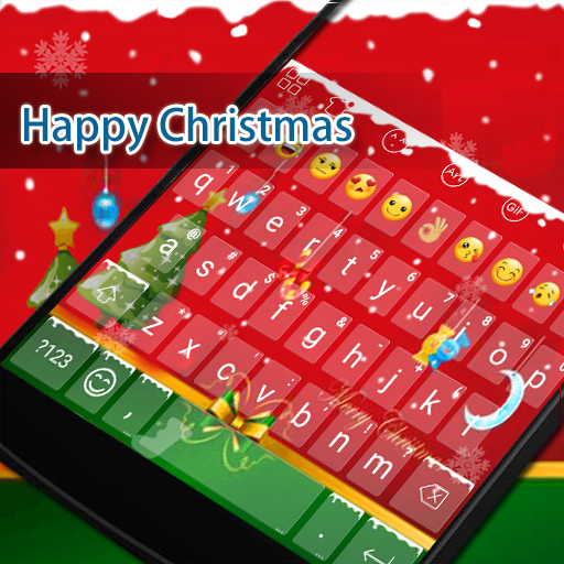 Happy Christmas Keyboard -GIf 遊戲 App LOGO-APP開箱王